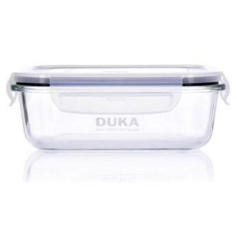 Pojemnik na żywność lunchbox DUKA KITCHEN 1000 ml szkło