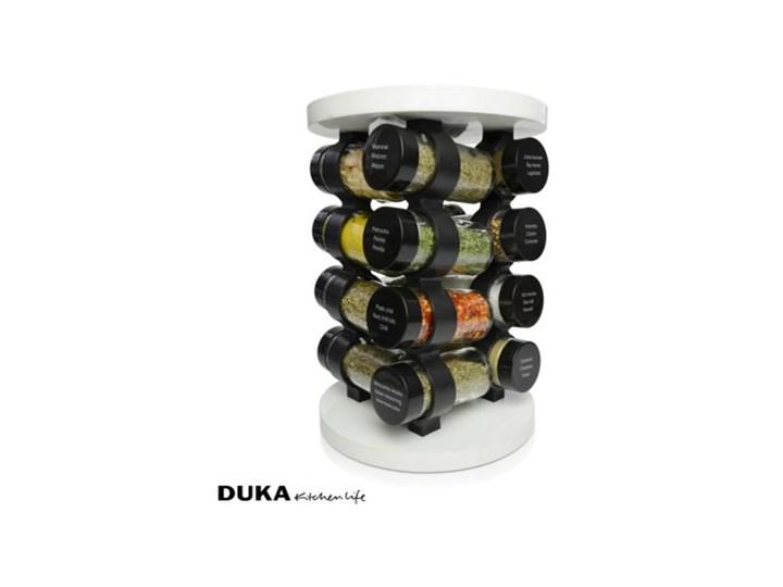 Przyprawnik DUKA KRYDDA 16 przypraw biały Kategoria Przyprawniki Zestaw do przypraw Kolor Czarny