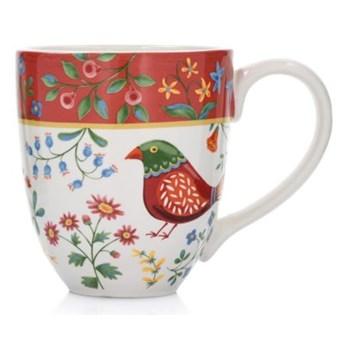 Kubek DUKA PARADISE 900 ml czerwony ceramika