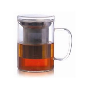 Kubek z zaparzaczem DUKA TEA TIME 400 ml szkło