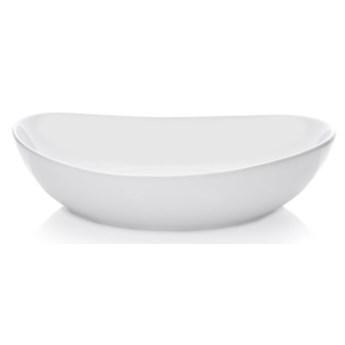 Misa DUKA TIME 30 cm biała porcelana