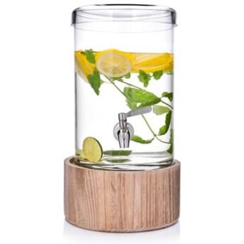 Dyspenser na napoje ze stojakiem DUKA TAP 6200 ml szkło