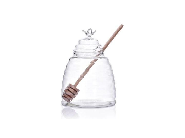 Słoik na miód z łyżeczką DUKA HONEY 500 ml szkło Kategoria Pojemniki i puszki