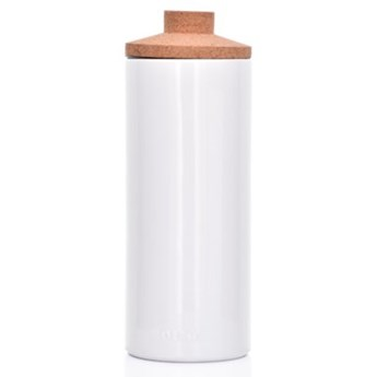 Pojemnik kuchenny słój DUKA VIT 2000 ml biały porcelana