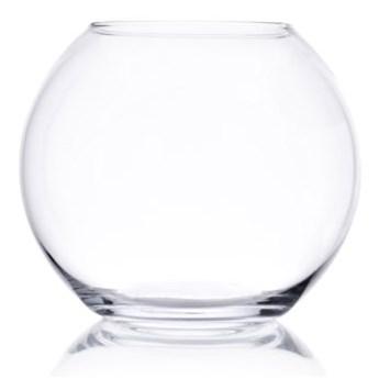 Wazon kula DUKA BALLONG 20x18 cm transparentny szkło