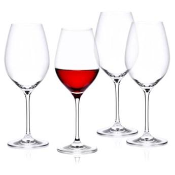 Zestaw 4 kieliszków do czerwonego wina DUKA ASPEN 550 ml transparentny szkło