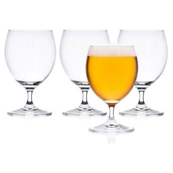 Zestaw 4 szklanek do piwa snifter DUKA BEER 570 ml transparentny szkło