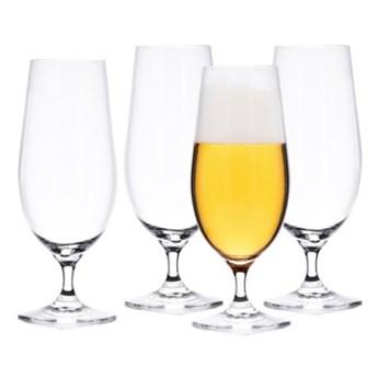 Zestaw 4 szklanek do piwa pokal DUKA BEER 460 ml transparentny szkło