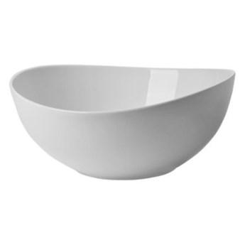 Miseczka DUKA TIME 17x16 cm biała porcelana