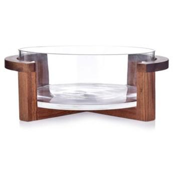 Misa sałatkowa z podstawą DUKA ACACIA 2700 ml transparentna szkło