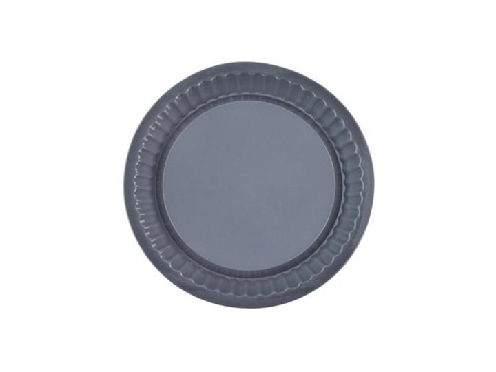 Forma do tarty okrągła DUKA SILCTOOL 26 cm grafitowa silikon Kolor Czarny Kategoria Formy i foremki