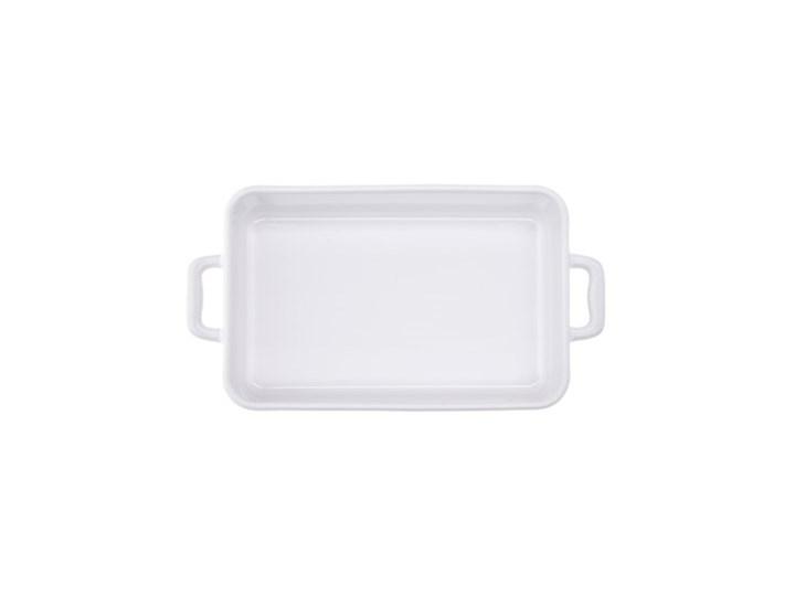 Forma do pieczenia prostokątna DUKA NIKLAS 23x12 cm biała kamionka Do ciasta Kolor Biały Ceramika Kategoria Formy i foremki