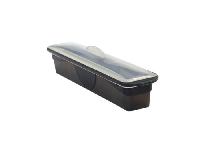 Forma do pieczenia keksówka z pokrywką MASTRAD 34x7x6 cm czarna silikon Keksówki Kolor Czarny Kategoria Formy i foremki