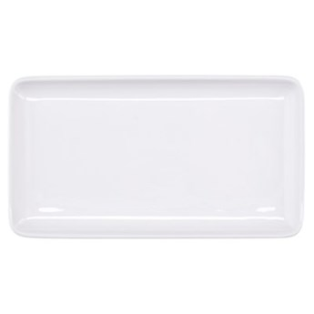 Talerz śniadaniowy prostokątny DUKA MODULAR 23x13 cm biały porcelana