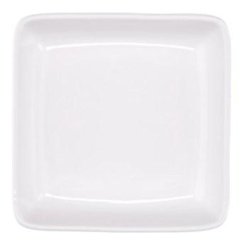Talerzyk deserowy kwadratowy DUKA MODULAR 12x12 cm biały porcelana