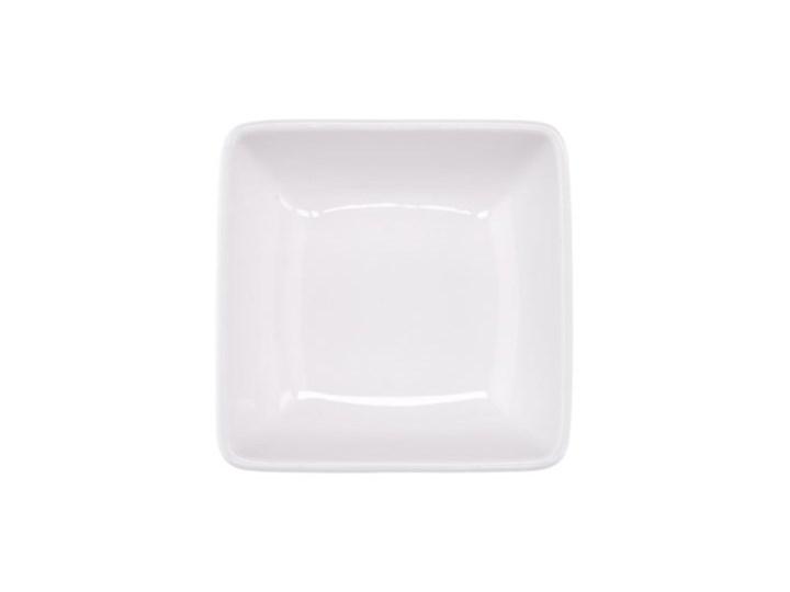 Miseczka kwadratowa DUKA MODULAR 80 ml biała porcelana Miseczki Kolor Biały Bulionówki Kategoria Miski