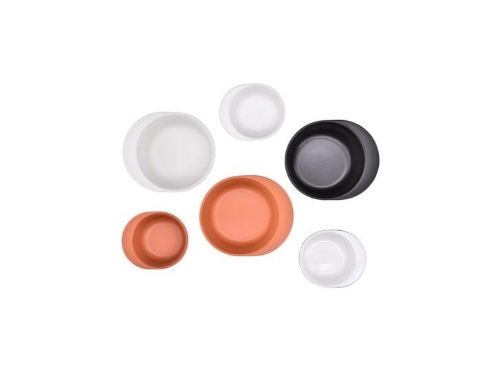 Forma do pieczenia okrągła DUKA HJALMAR 16x14 cm czarna kamionka Kolor Czarny Naczynie do zapiekania Ceramika Kategoria Naczynia do zapiekania