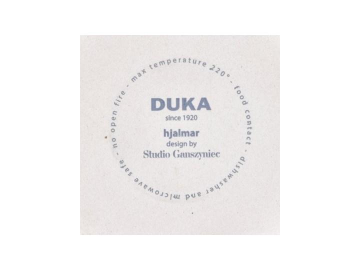 Forma do pieczenia okrągła DUKA HJALMAR 16x14 cm czarna kamionka Ceramika Naczynie do zapiekania Kolor Czarny