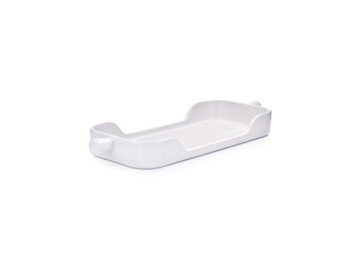 Naczynie do pieczenia taca DUKA HJALMAR 38x15 cm białe kamionka Ceramika Naczynie do zapiekania Kolor Biały