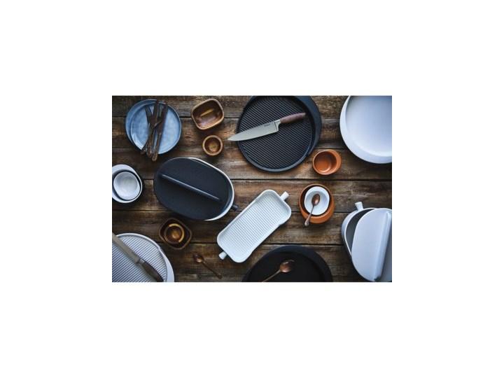 Naczynie do pieczenia taca DUKA HJALMAR 38x15 cm białe kamionka Naczynie do zapiekania Ceramika Kolor Biały Kategoria Naczynia do zapiekania