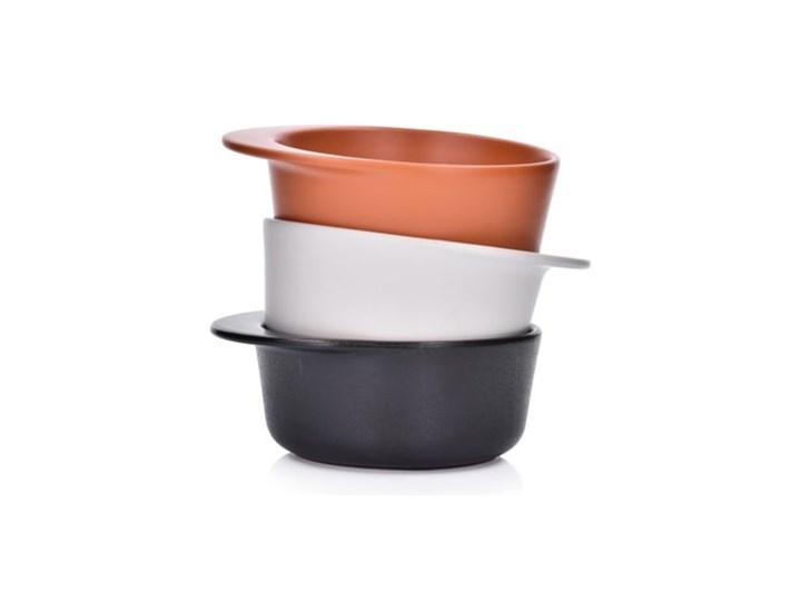Forma do pieczenia okrągła DUKA HJALMAR 16x14 cm ceglasta kamionka Ceramika Kategoria Naczynia do zapiekania Naczynie do zapiekania Kolor Czerwony