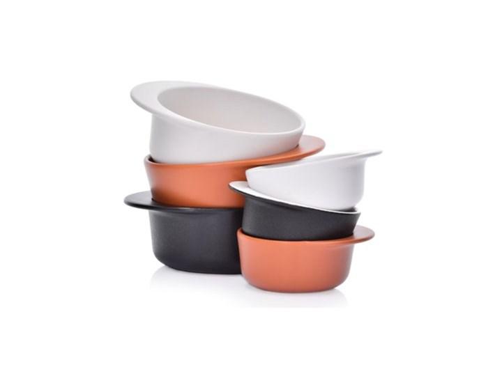 Forma do pieczenia okrągła DUKA HJALMAR 16x14 cm ceglasta kamionka Naczynie do zapiekania Ceramika Kategoria Naczynia do zapiekania