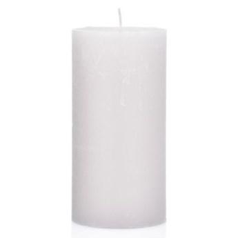 Świeca walec DUKA FRYST 15 cm biała parafina