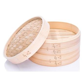 Parownik 2-poziomowy DUKA DIMSUM bambus