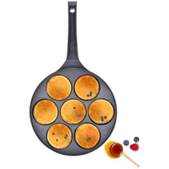 Patelnia do pancakes DUKA KRISPA 26 cm czarna aluminium