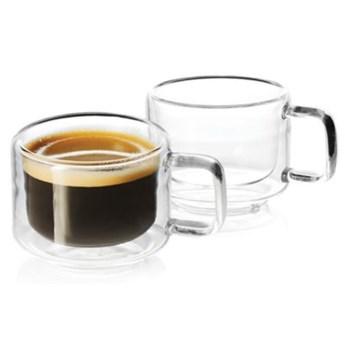 Zestaw szklanek do espresso DUKA SVEN 2 sztuki 65 ml szkło