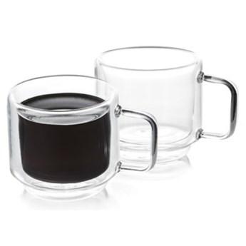 Zestaw szklanek do kawy DUKA SVEN 2 sztuki 120 ml szkło