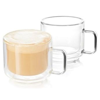 Zestaw szklanek do kawy i herbaty DUKA SVEN 2 sztuki 150 ml szkło