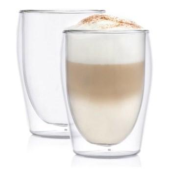 Zestaw szklanek do latte DUKA LISE 300 ml podwójne dno szkło
