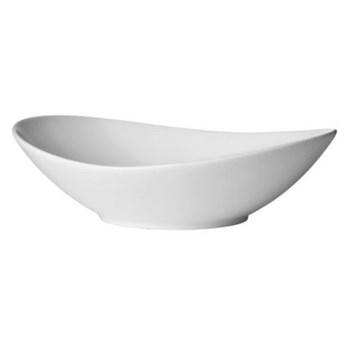 Talerz głęboki DUKA TIME 450 ml biały porcelana