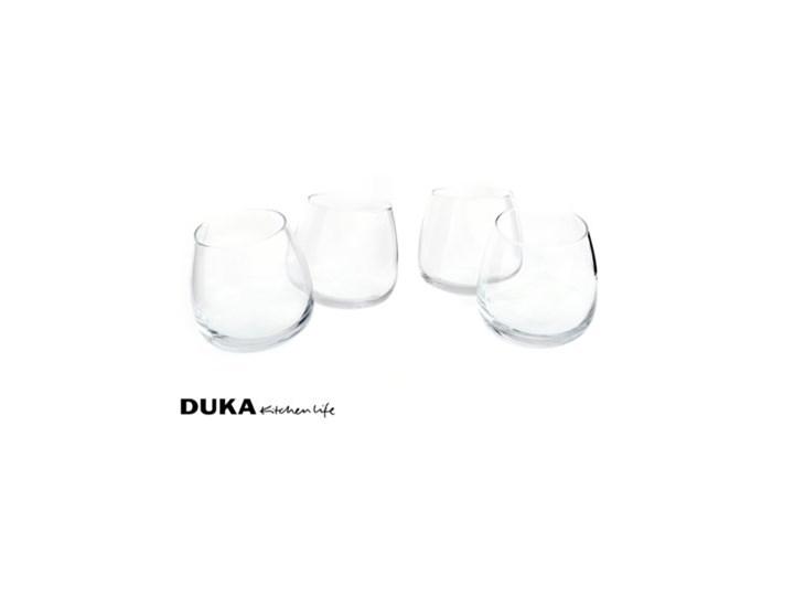 Zestaw bujanych szklanek DUKA JOY 6 sztuk 300 ml szkło Komplet szklanek Szklanki wysokie Kategoria Szklanki Kolor Przezroczysty
