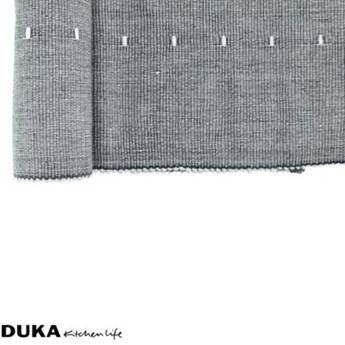 Bieżnik na stół ławę DUKA STOCKHOLM 140x40 cm niebieski szary bawełna