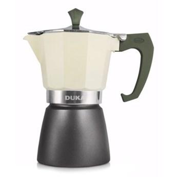 Kawiarka na indukcję DUKA TRYCK kremowa aluminium