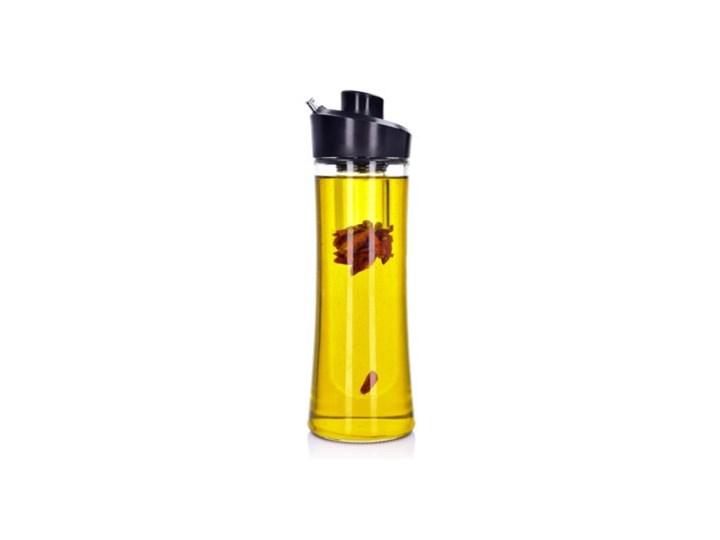 Butelka na oliwę z pojemnikiem na zioła DUKA OLLI 500 ml szkło Kategoria Przyprawniki Pojemnik na ocet i oliwę Kolor Czarny
