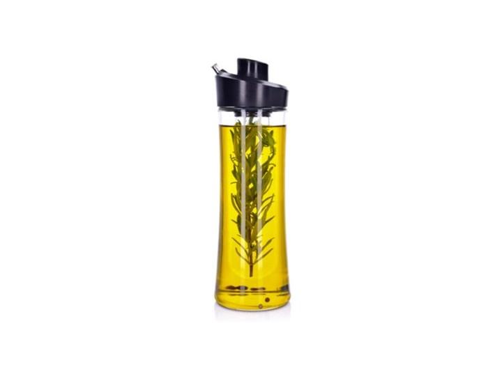 Butelka na oliwę z pojemnikiem na zioła DUKA OLLI 500 ml szkło