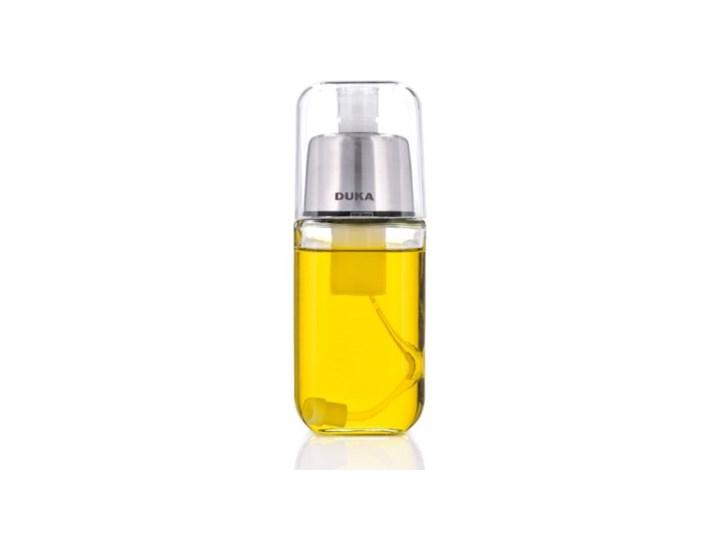 Butelka na oliwę z atomizerem DUKA OLLI 200 ml szkło Kategoria Przyprawniki Pojemnik na ocet i oliwę Kolor Srebrny