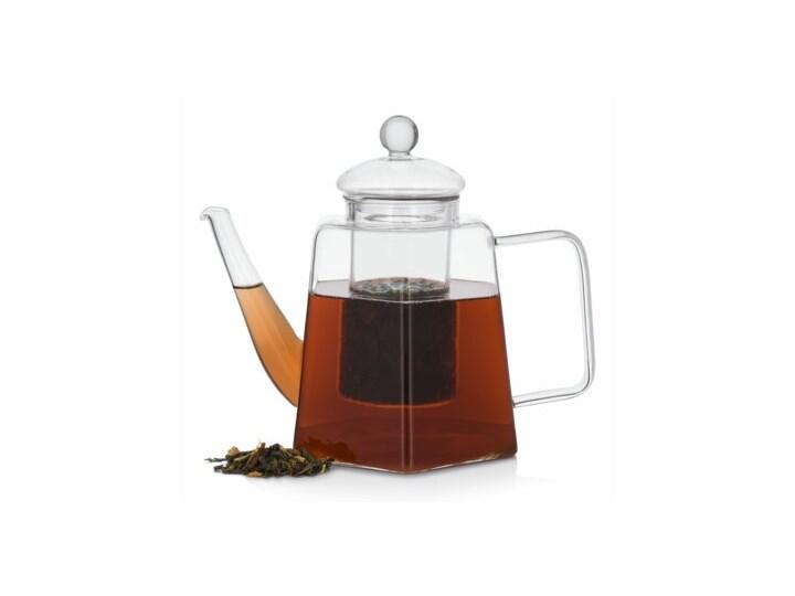 Dzbanek z zaparzaczem DUKA TEA TIME 1200 ml szkło Dzbanek do kawy i herbaty Kategoria Dzbanki Kolor Przezroczysty
