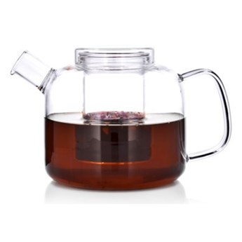 Dzbanek z zaparzaczem DUKA TEA TIME 800 ml szkło