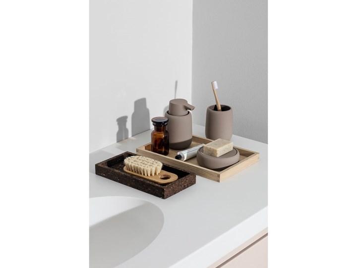 Ciemnoszary dozownik do mydła Blomus Sono, 250 ml Tworzywo sztuczne Silikon Dozowniki Ceramika Kategoria Mydelniczki i dozowniki