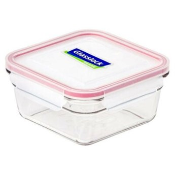 Pojemnik szklany GLASSLOCK Oven Safe 0.9 L Przezroczysty
