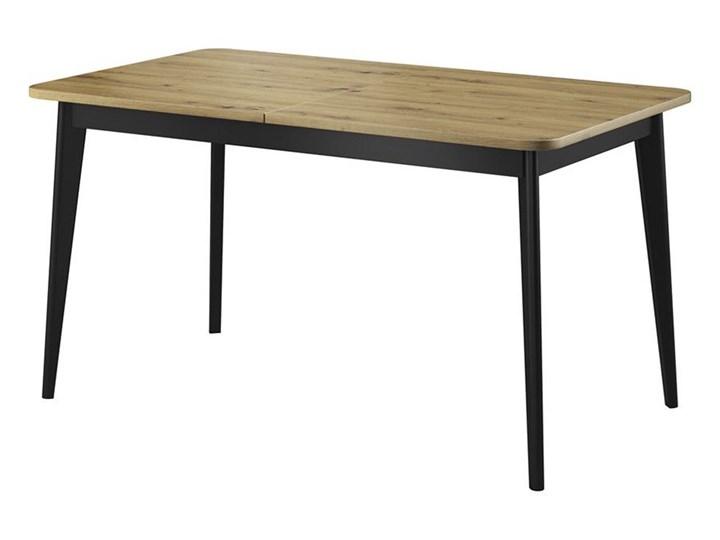 Bettso NODIS -  Stół PST140 rozkładany dąb artisan Szerokość 80 cm Drewno Długość 140 cm  Płyta MDF Wysokość 76 cm Kolor Beżowy