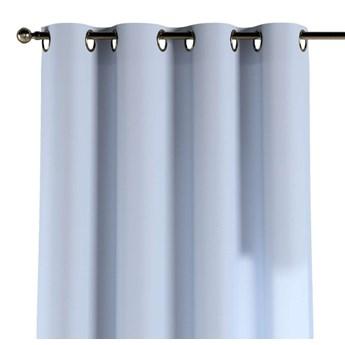 Zasłona na kółkach 1 szt., pastelowy niebieski, 1szt 130 × 260 cm, Loneta