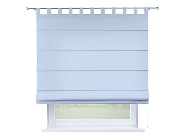 Roleta rzymska Verona, pastelowy niebieski, szer.80 × dł.170 cm, Loneta Typ Roleta przeciwsłoneczna Typ Roleta zaciemniająca