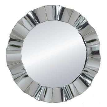 Lustro  okrągłe w lustrzanej  ramie Mio 96 ' glam