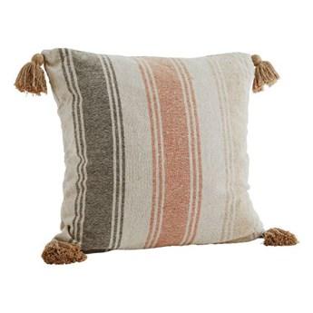 Madam Stoltz - Poszewka na poduszkę Striped