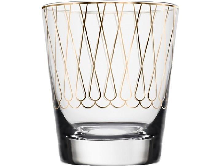 Świecznik na tealight First Gold 001, proj. M. Młoczkowski, VOLA Szkło Kolor Złoty Ceramika Kategoria Świeczniki i świece
